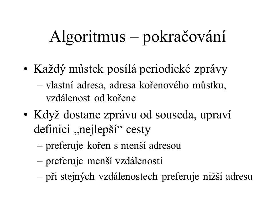 Algoritmus – pokračování