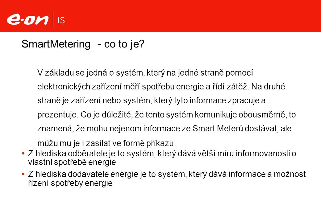 SmartMetering - co to je