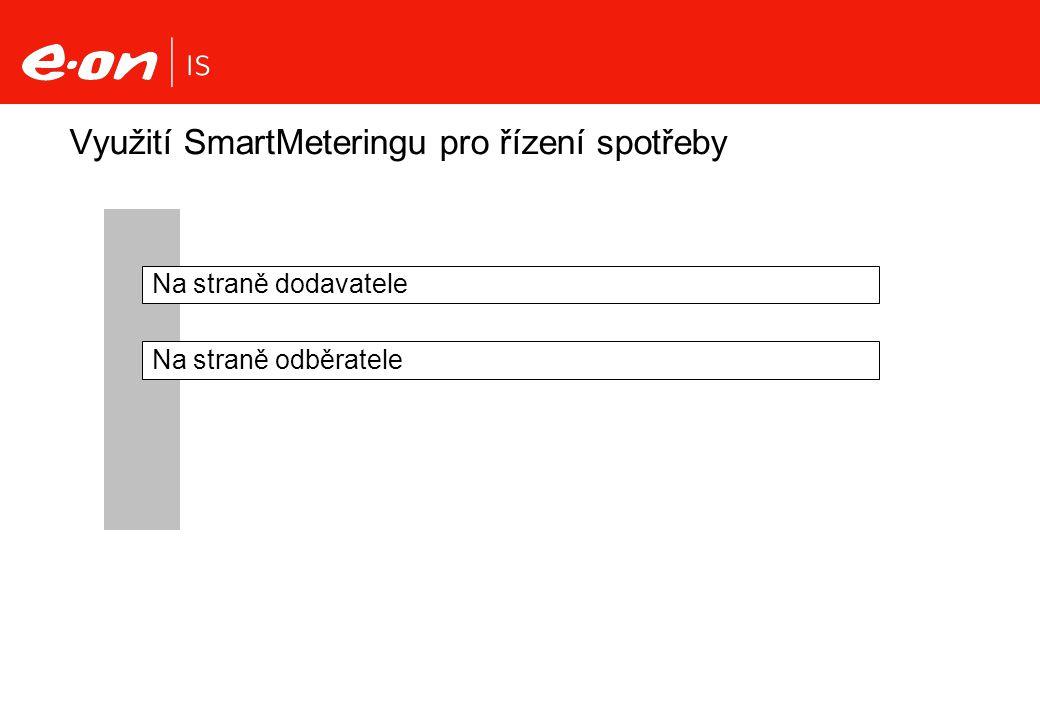 Využití SmartMeteringu pro řízení spotřeby