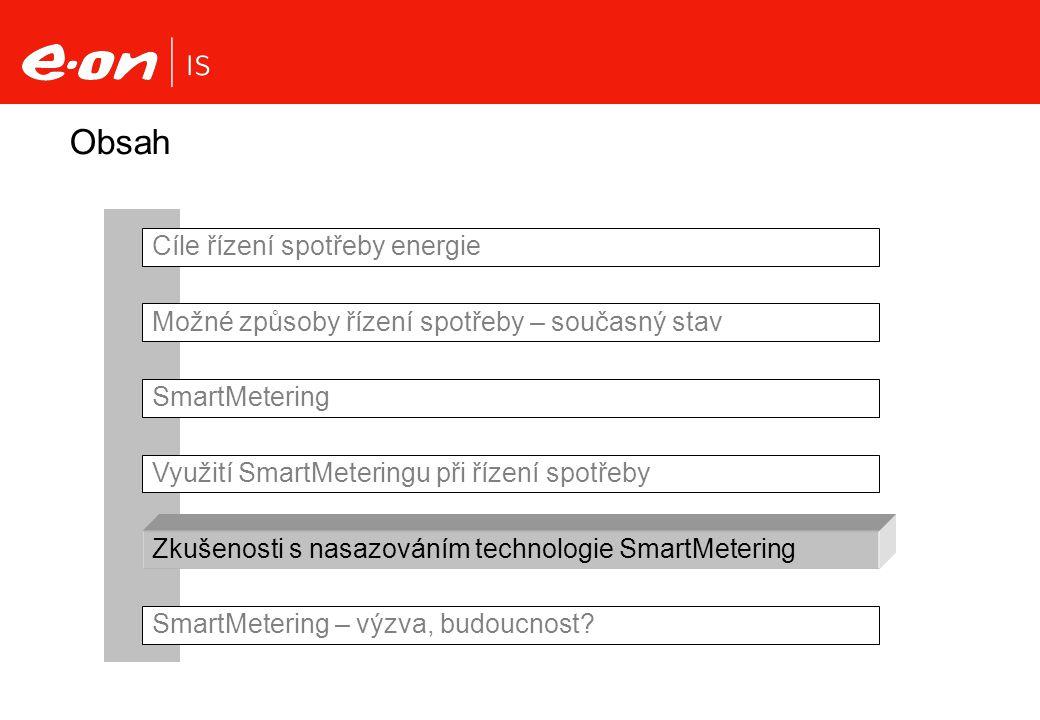 Obsah Cíle řízení spotřeby energie