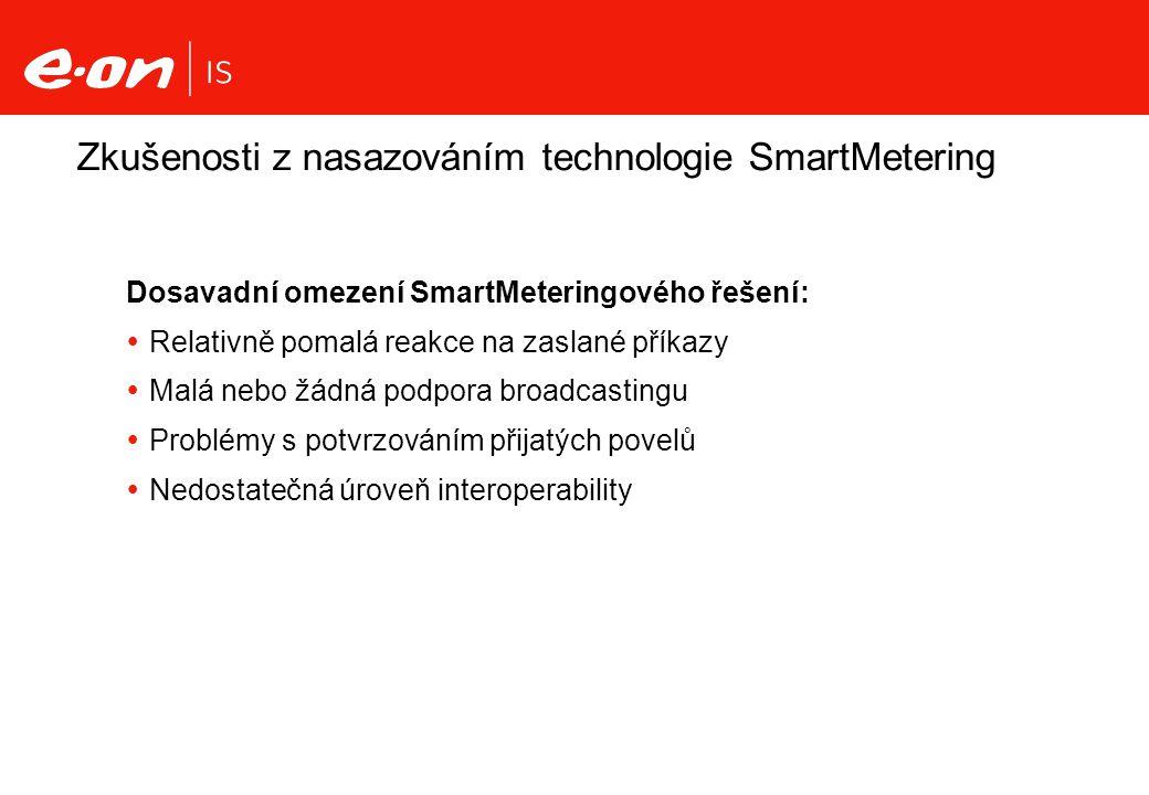 Zkušenosti z nasazováním technologie SmartMetering