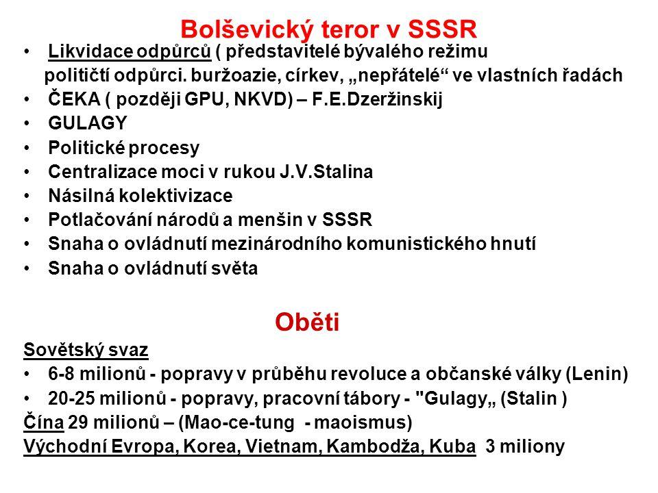 Bolševický teror v SSSR