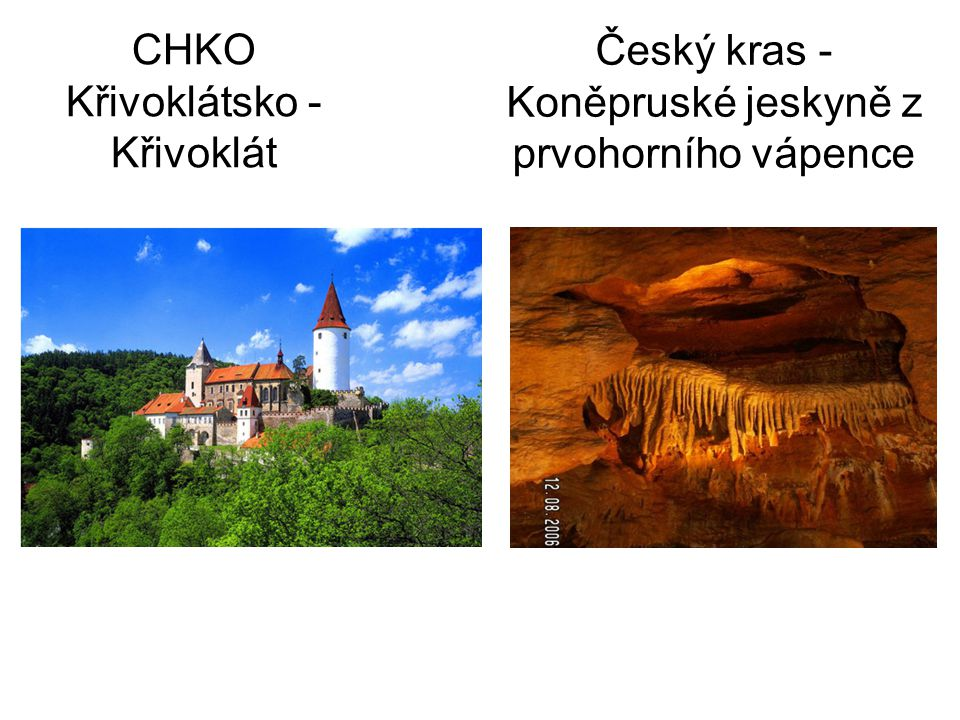 CHKO Křivoklátsko - Křivoklát