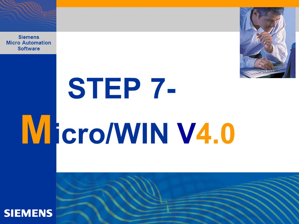 STEP 7-Micro/WIN V4.0 Siemens Micro Automation Software