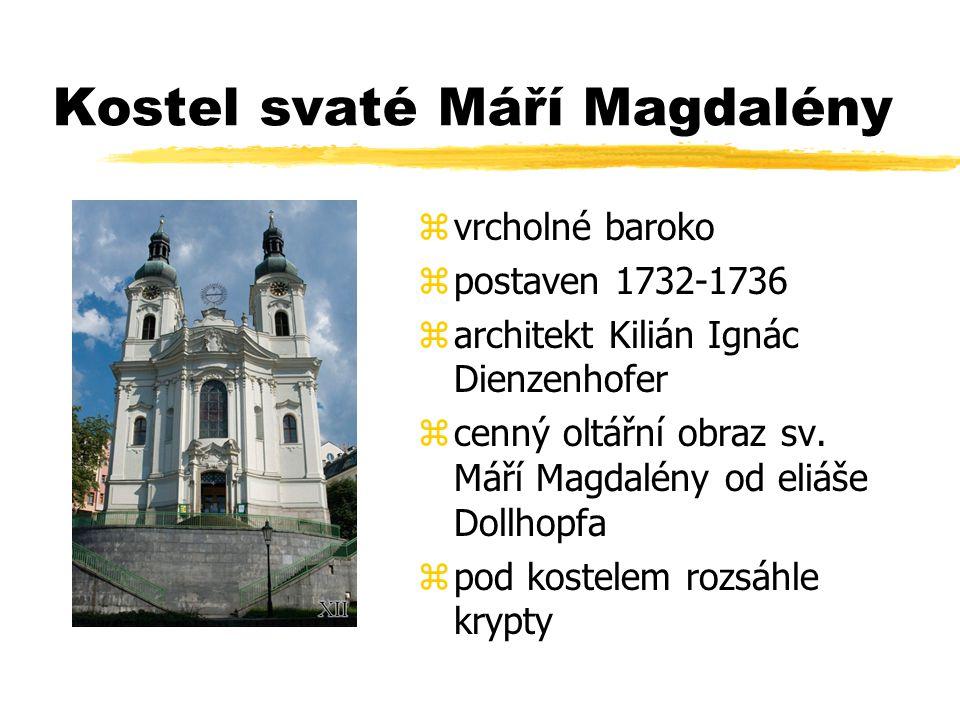 Kostel svaté Máří Magdalény