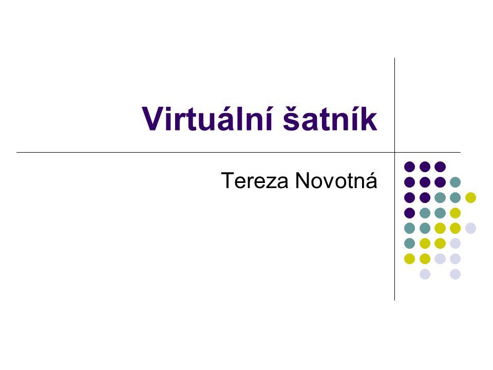 Virtuální šatník Tereza Novotná