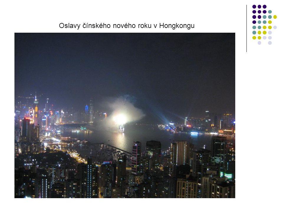 Oslavy čínského nového roku v Hongkongu