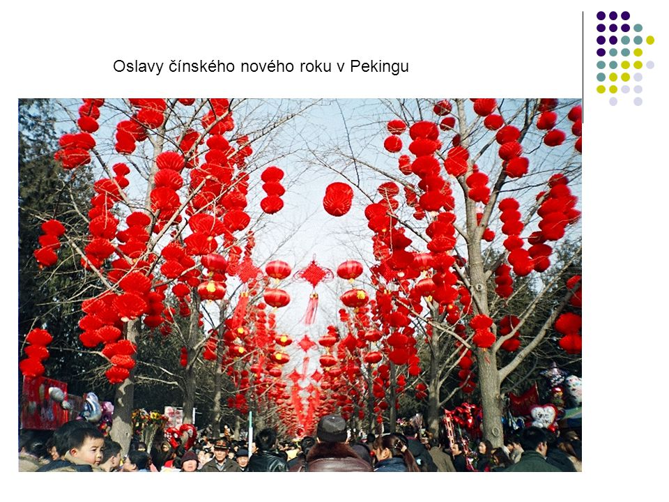 Oslavy čínského nového roku v Pekingu
