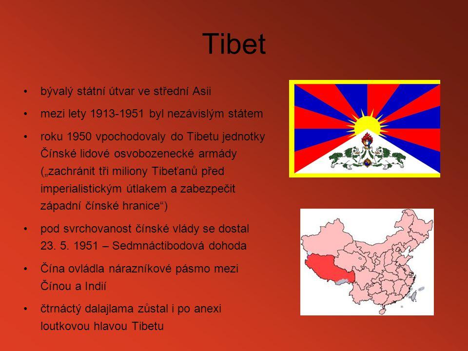 Tibet bývalý státní útvar ve střední Asii
