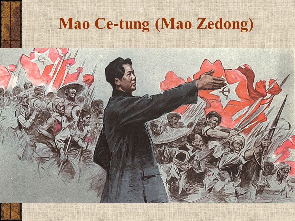 Mao Ce-tung (Mao Zedong)