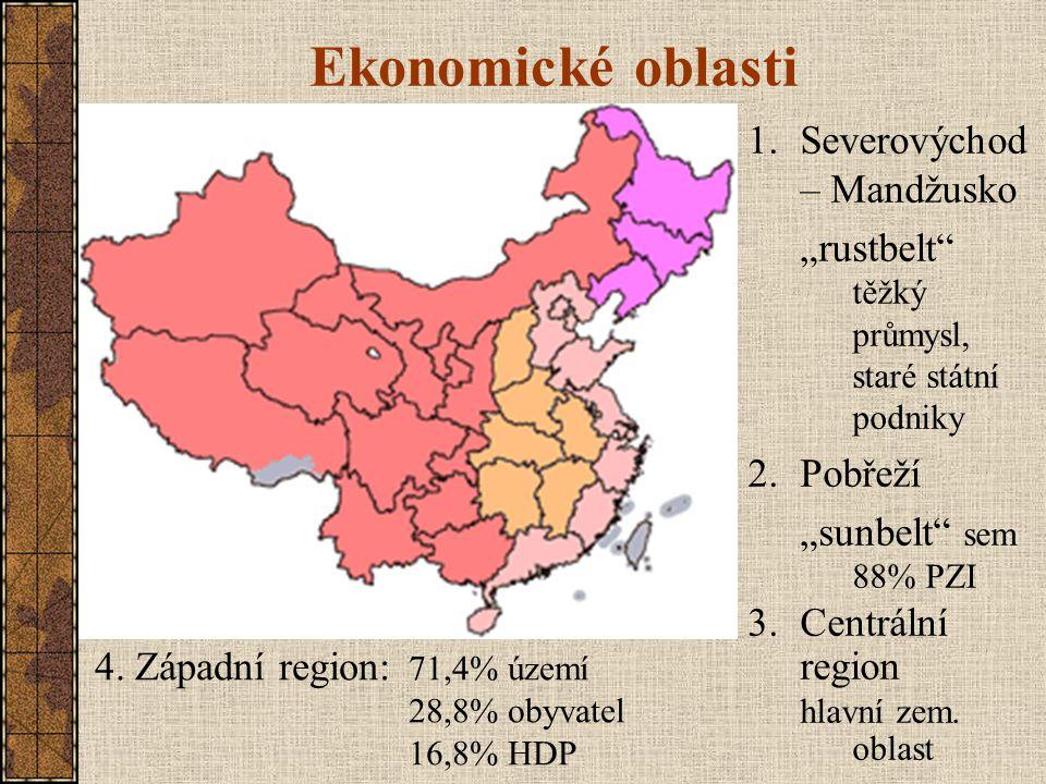 Ekonomické oblasti Severovýchod – Mandžusko