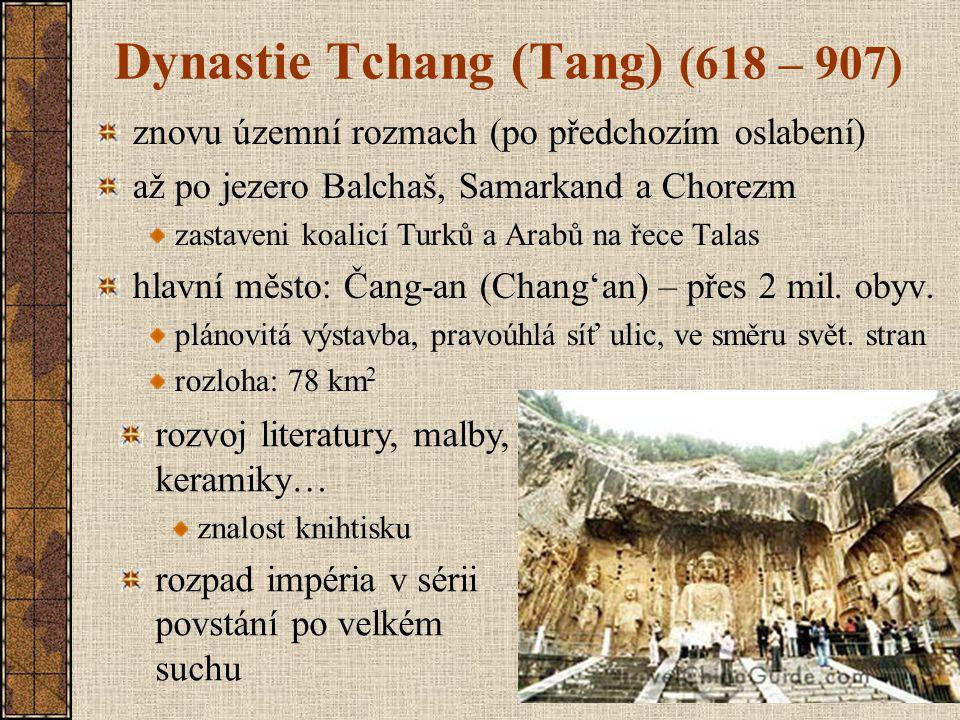 Dynastie Tchang (Tang) (618 – 907)