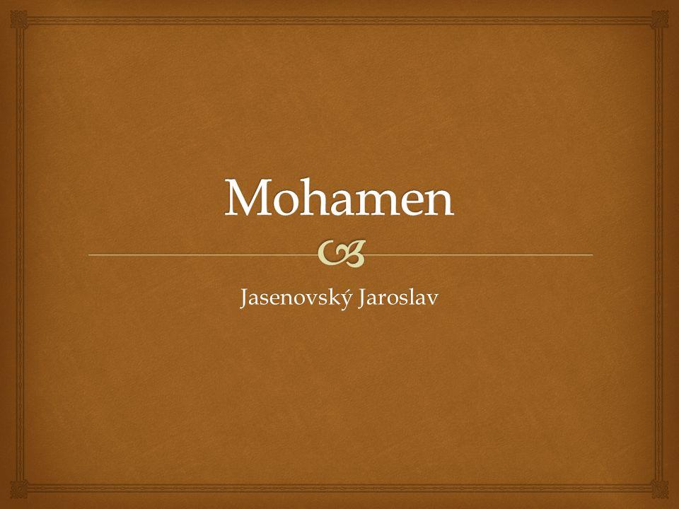 Mohamen Jasenovský Jaroslav