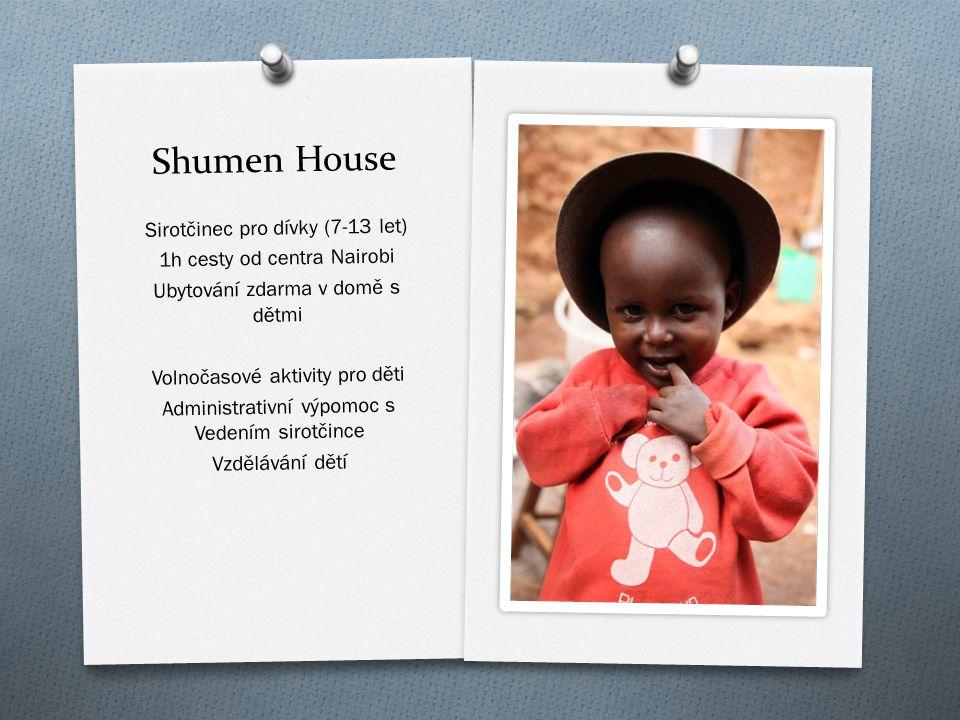 Shumen House Sirotčinec pro dívky (7-13 let)