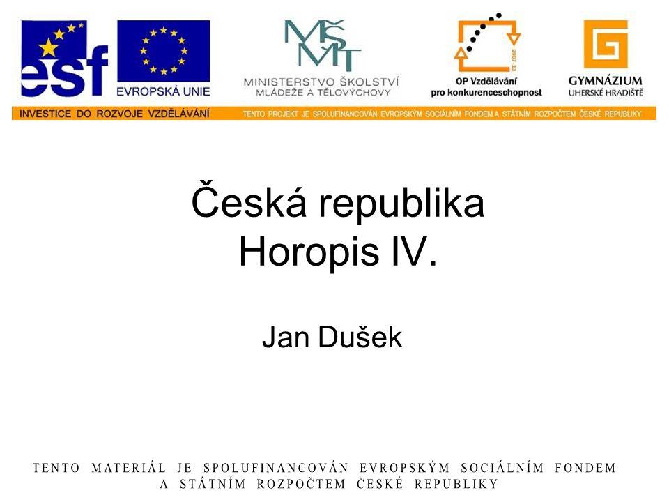 Česká republika Horopis IV.