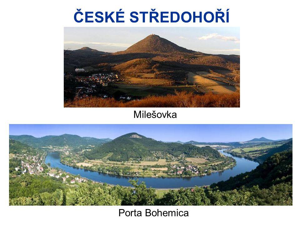 ČESKÉ STŘEDOHOŘÍ Milešovka Porta Bohemica