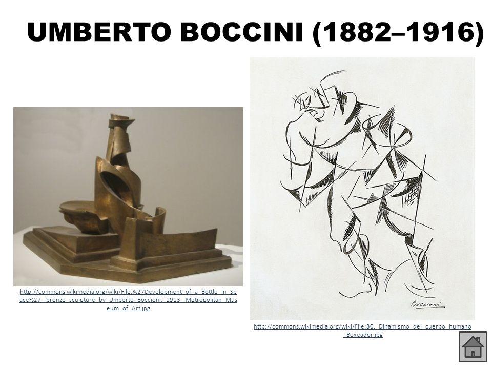 UMBERTO BOCCINI (1882–1916)