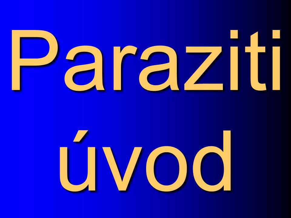 Paraziti úvod