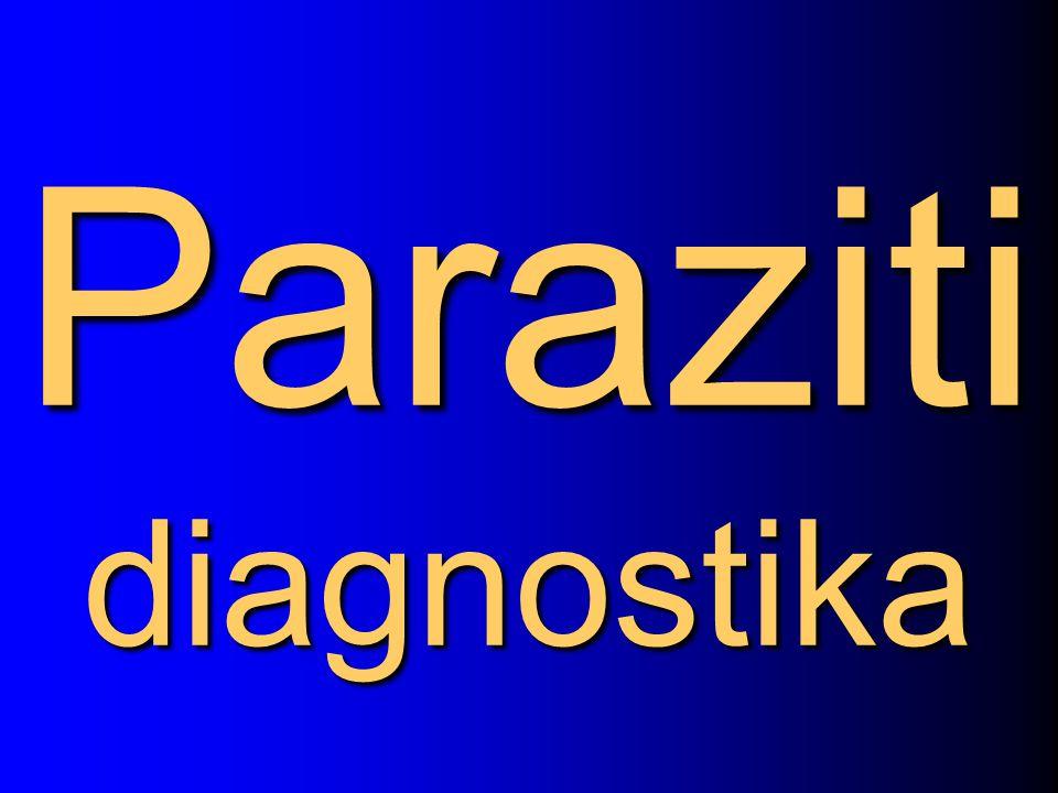 Paraziti diagnostika