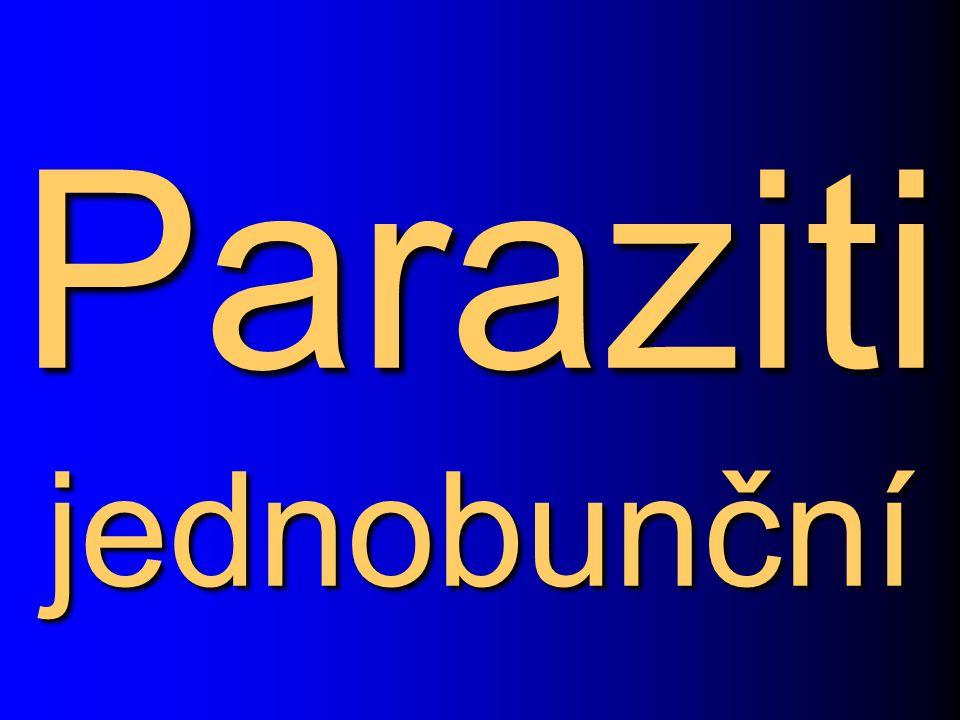 Paraziti jednobunční