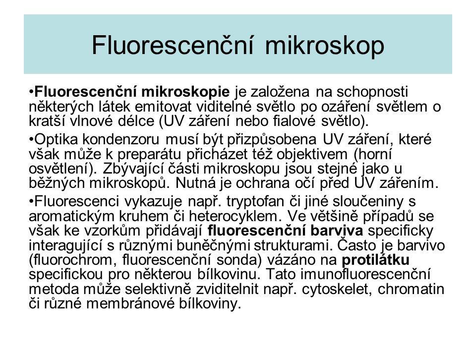 Fluorescenční mikroskop