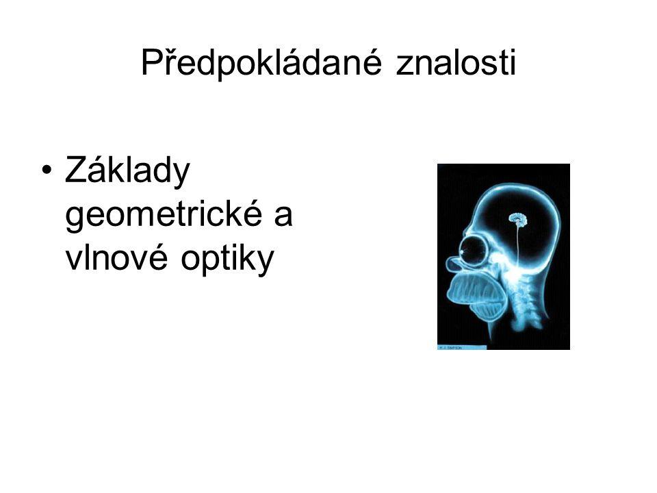 Předpokládané znalosti