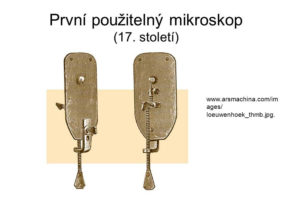 První použitelný mikroskop (17. století)