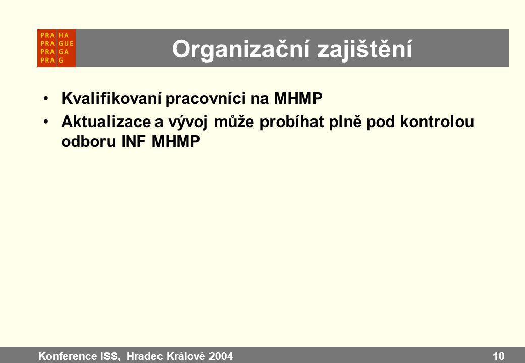 Organizační zajištění