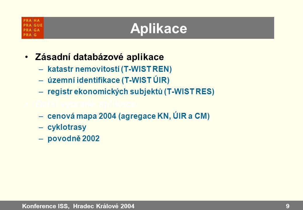 Aplikace Zásadní databázové aplikace Další vybrané aplikace