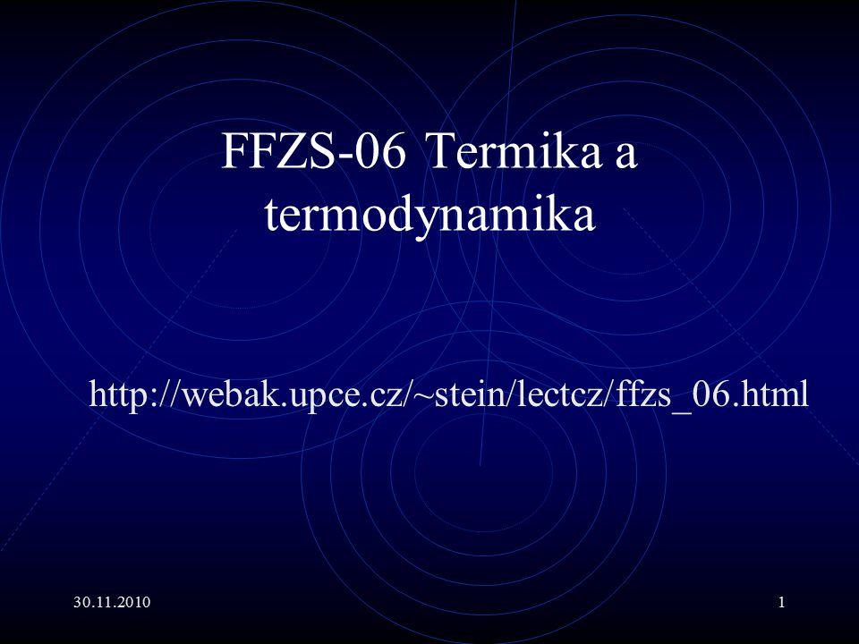FFZS-06 Termika a termodynamika