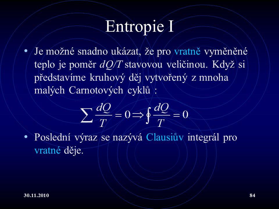 Entropie I