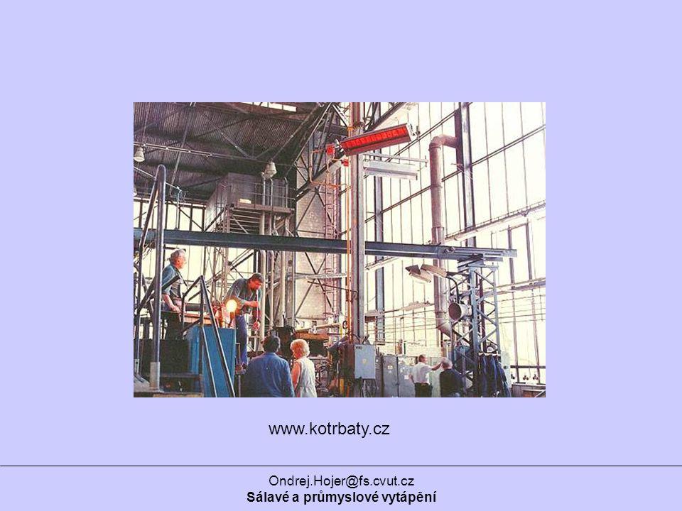 Sálavé a průmyslové vytápění