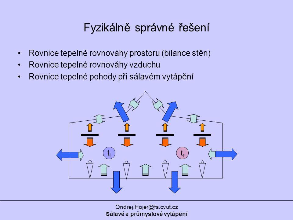Fyzikálně správné řešení