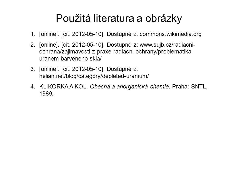 Použitá literatura a obrázky