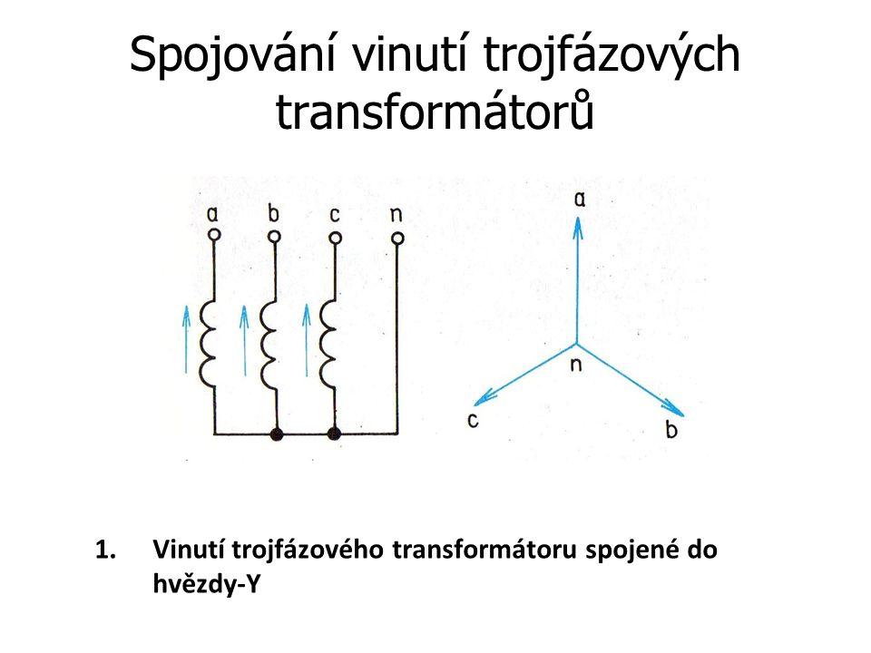Spojování vinutí trojfázových transformátorů