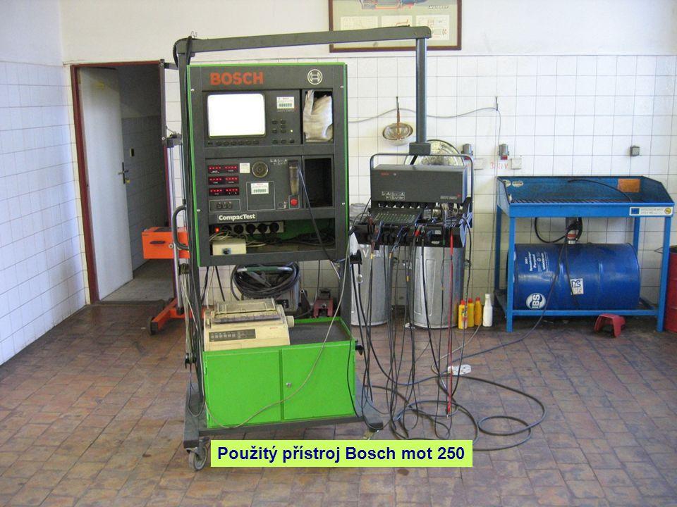 Použitý přístroj Bosch mot 250