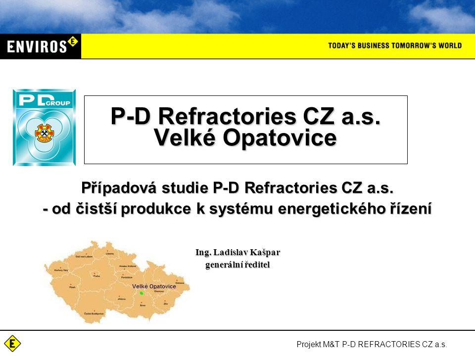 P-D Refractories CZ a.s. Velké Opatovice