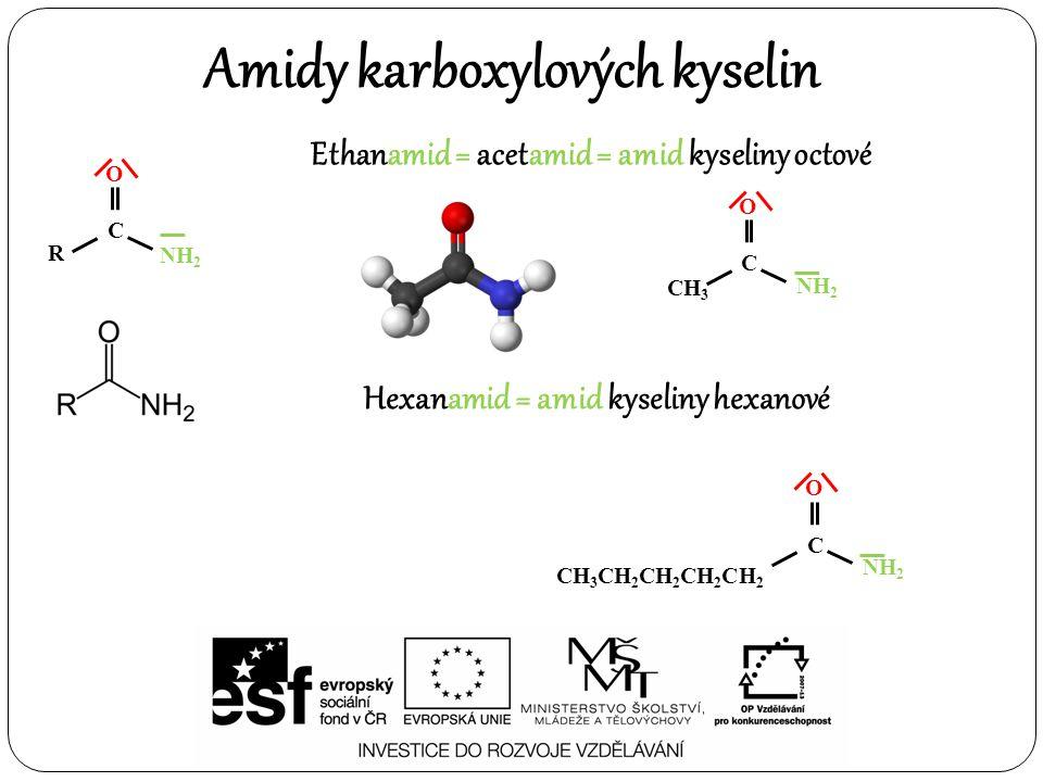 Amidy karboxylových kyselin