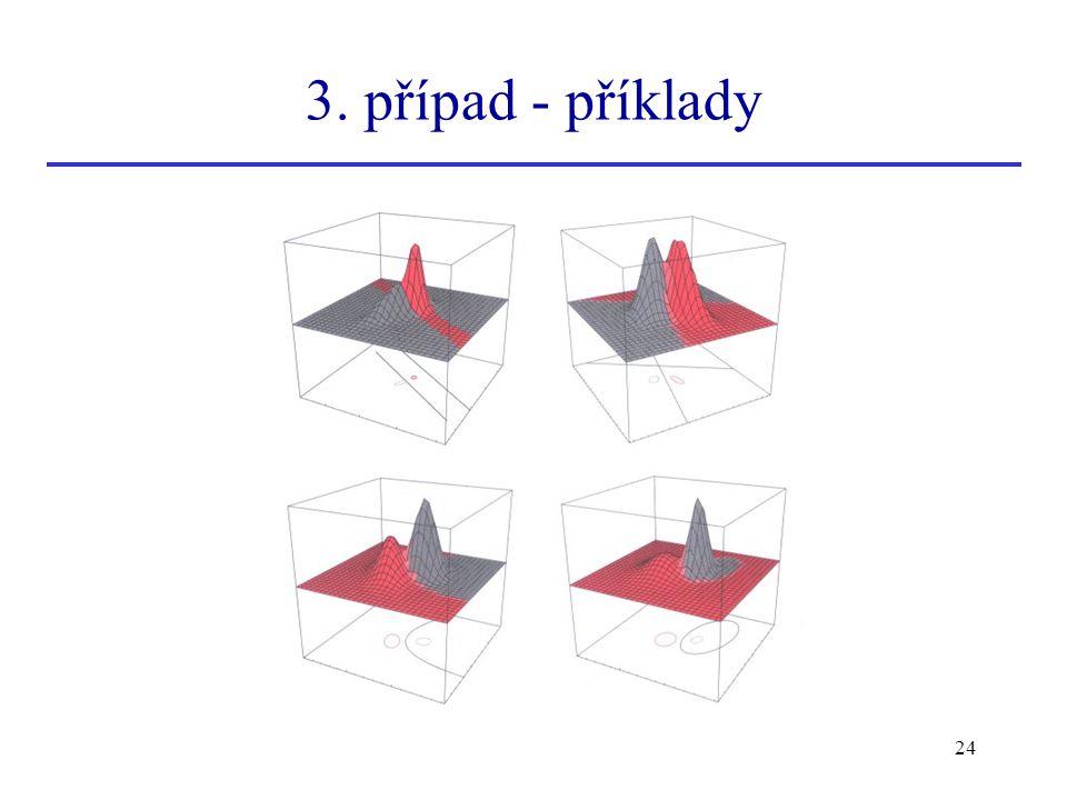 3. případ - příklady