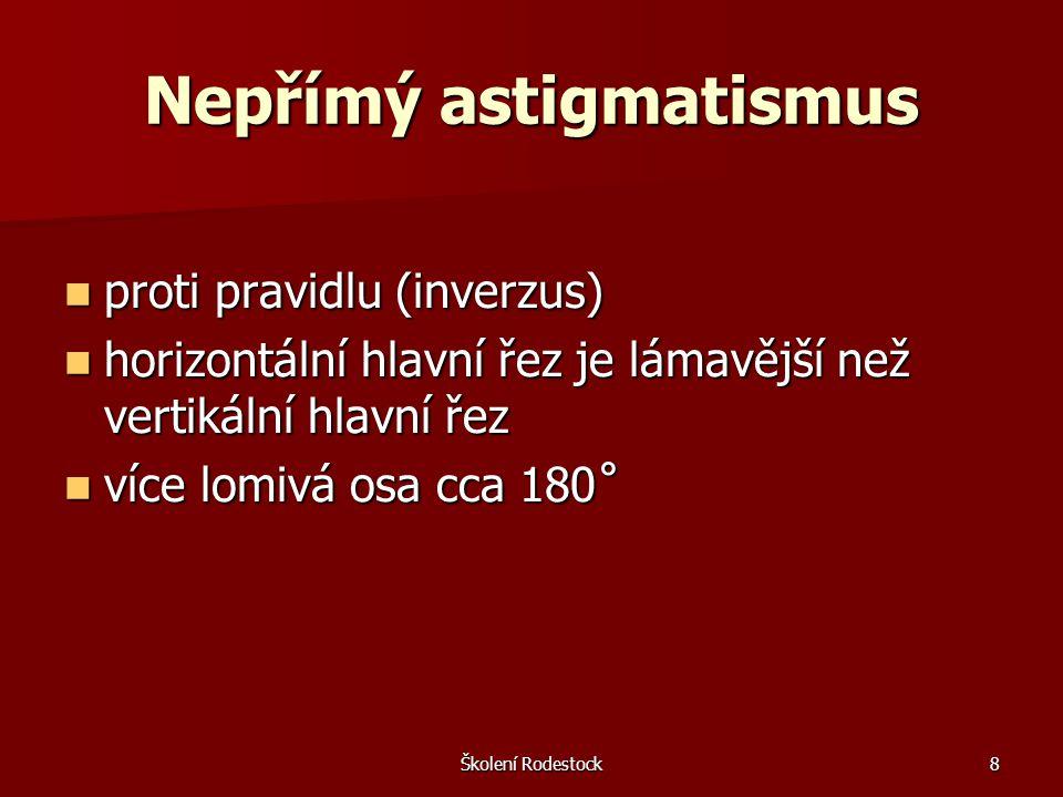 Nepřímý astigmatismus