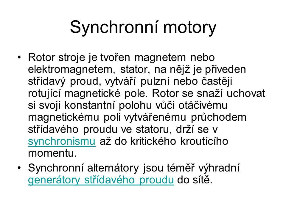 Synchronní motory