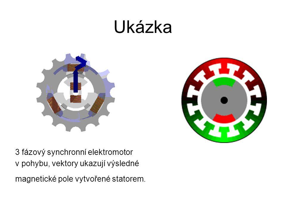Ukázka 3 fázový synchronní elektromotor