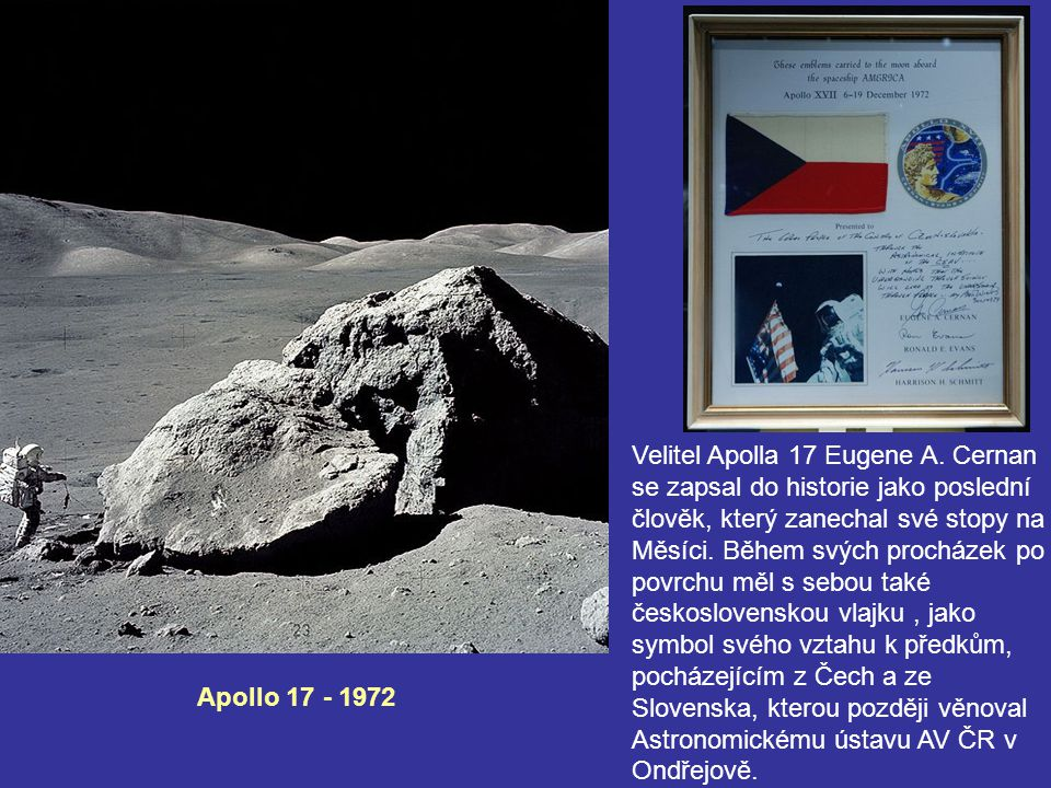 Velitel Apolla 17 Eugene A