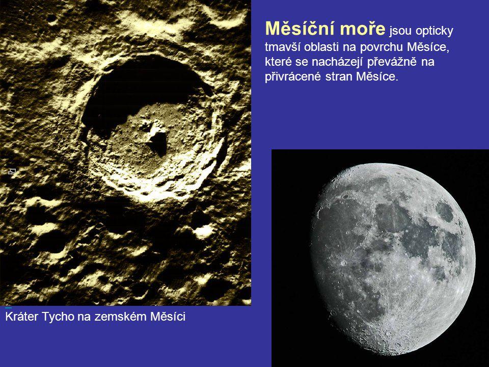 Měsíční moře jsou opticky tmavší oblasti na povrchu Měsíce, které se nacházejí převážně na přivrácené stran Měsíce.