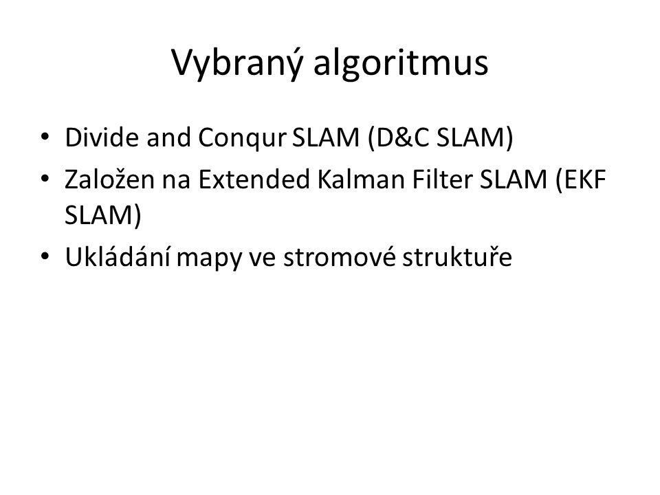 Vybraný algoritmus Divide and Conqur SLAM (D&C SLAM)