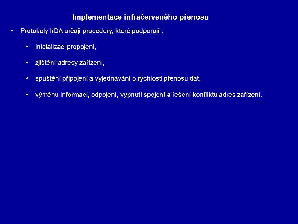 Implementace infračerveného přenosu