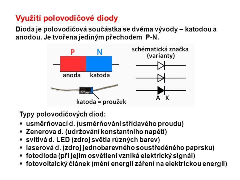 Využití polovodičové diody
