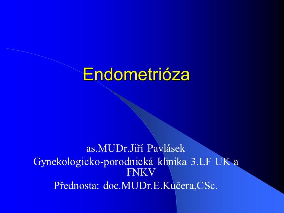 Endometrióza as.MUDr.Jiří Pavlásek