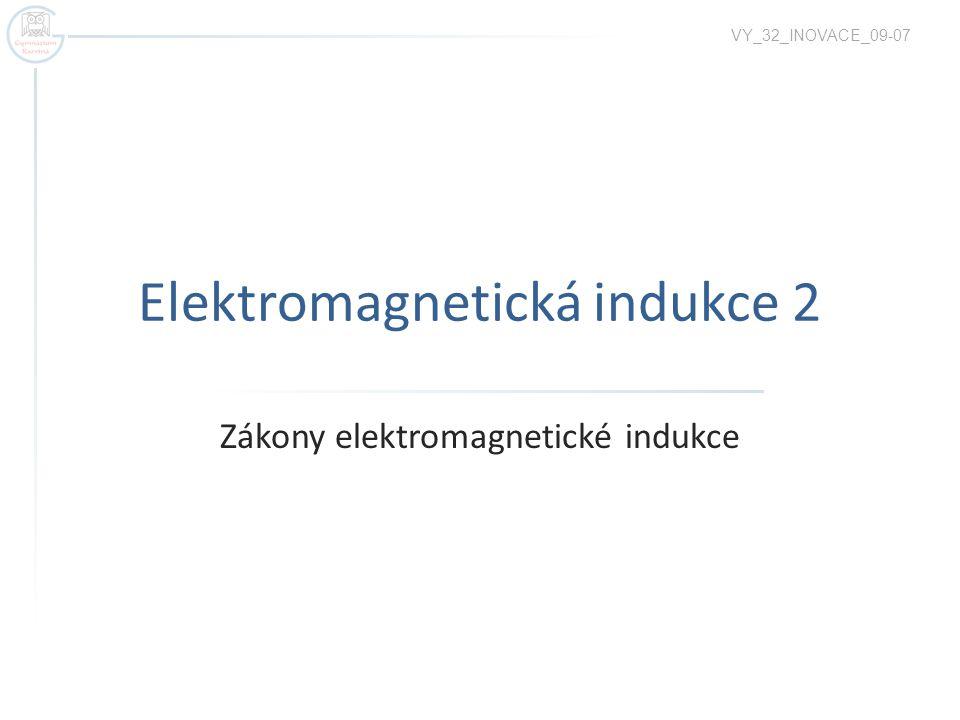 Elektromagnetická indukce 2