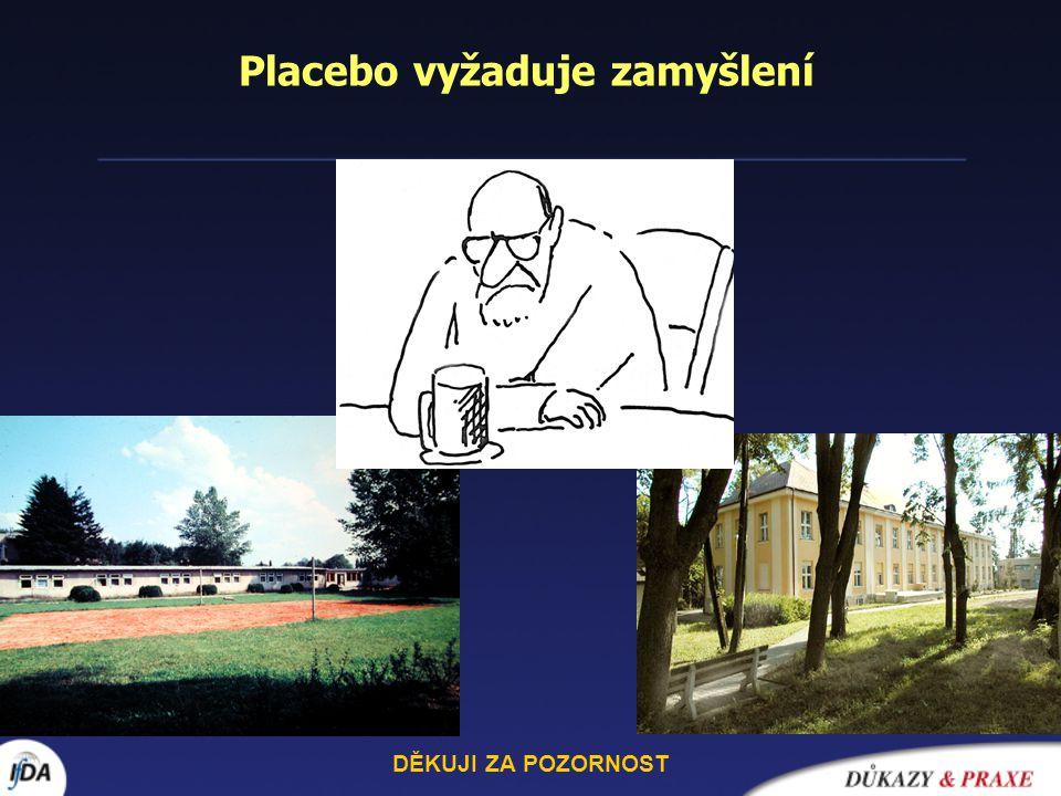 Placebo vyžaduje zamyšlení
